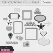 Templates Grab Bag Kit #28- Rubber