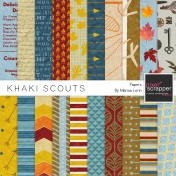 Khaki Scouts Papers Kit
