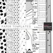 Paper Templates Kit #25