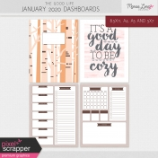 The Good Life: January 2020 Dashboards Kit