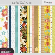 The Good Life: February 2020 Papers Kit