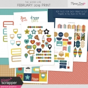 The Good Life: February 2020 Print Kit
