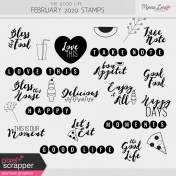 The Good Life: February 2020 Stamps Kit