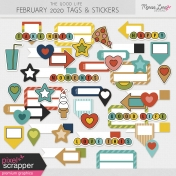 The Good Life: February 2020 Tags & Stickers Kit