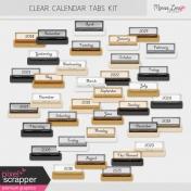 Clear Calendar Tabs Kit