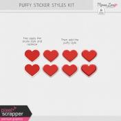 Puffy Sticker Style