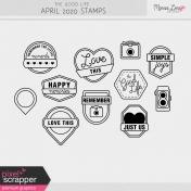 The Good Life: April 2020 Stamps Kit