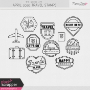 The Good Life: April 2020 Travel Stamps Kit