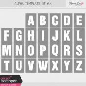 Alpha Template Kit #55