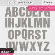 Alpha Template Kit #56