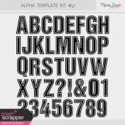 Alpha Template Kit #57