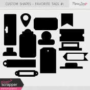 Custom Shapes Kit - Tags #1