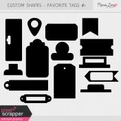 Custom Shapes Kit- Tags #1