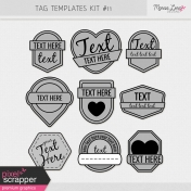 Tag Templates Kit #11