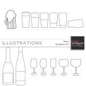 Boozy Illustrations Kit