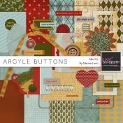 Argyle Buttons Mini Kit