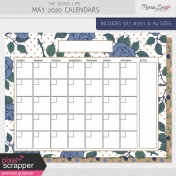 The Good Life: May 2020 Calendars Kit