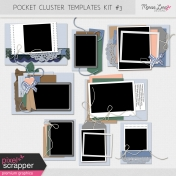 Pocket Cluster Templates Kit #3