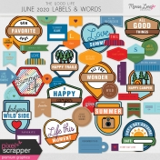 The Good Life: June 2020 Labels & Words Kit