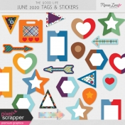 The Good Life: June 2020 Tags & Stickers Kit