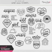 The Good Life: June 2020 Stamps Kit