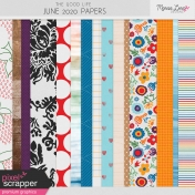 The Good Life: June 2020 Papers Kit
