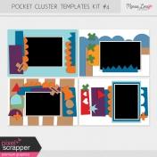 Pocket Cluster Templates Kit #4