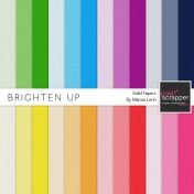 Brighten Up Solid Papers kit
