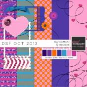 DSF October 2013 Blog Train Mini Kit