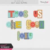 The Good Life: July 2020 Alphas Kit