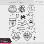 The Good Life: July 2020 Stamps Kit #2
