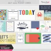 The Good Life: July 2020 Pocket Cards Kit