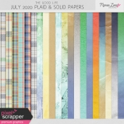 The Good Life: July 2020 Plaids & Solids Kit