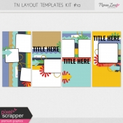 Travelers Notebook Layout Templates Kit #10