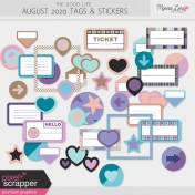The Good Life: August 2020 Tags & Stickers Kit