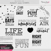 The Good Life: August 2020 Stamps Kit