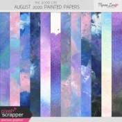 The Good Life: August 2020 Painted Papers Kit