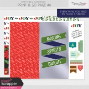 Travelers Notebook Print & Go Page Kit #6