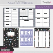 The Good Life: August 2020 Dashboards Kit