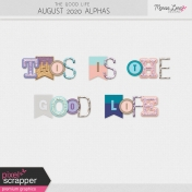 The Good Life: August 2020 Alphas Kit
