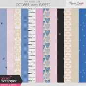 The Good Life: October 2020 Papers Kit