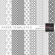 Paper Templates 032 Kit