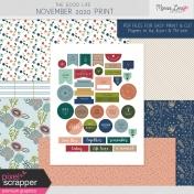 The Good Life: November 2020 Print Kit