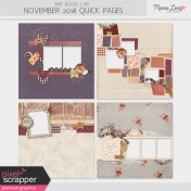The Good Life: November 2019 Quick Pages Kit