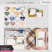 The Good Life: November Quick Pages Kit #2