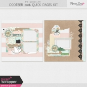 The Good Life: October Quick Pages Kit