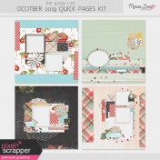 The Good Life: October 2019 Quick Pages Kit