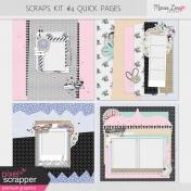 Scraps Quick Pages Kit #4