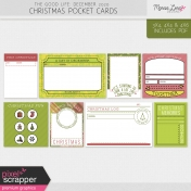 The Good Life: December 2020 Christmas Pocket Cards Kit