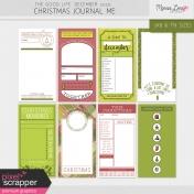 The Good Life: December 2020 Christmas Journal Me Kit